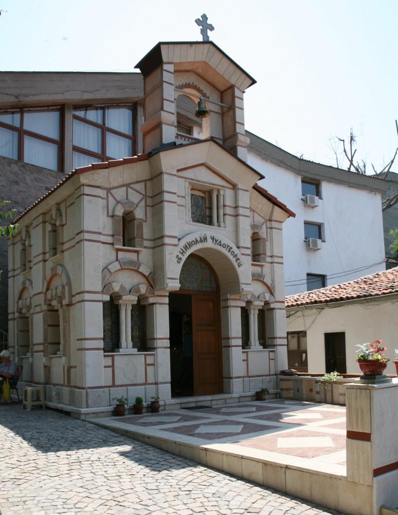 Zdjęcia: Lozanec, Sozopol, Cerkiew Św. Mikołaja Cudotwórcy, BUłGARIA