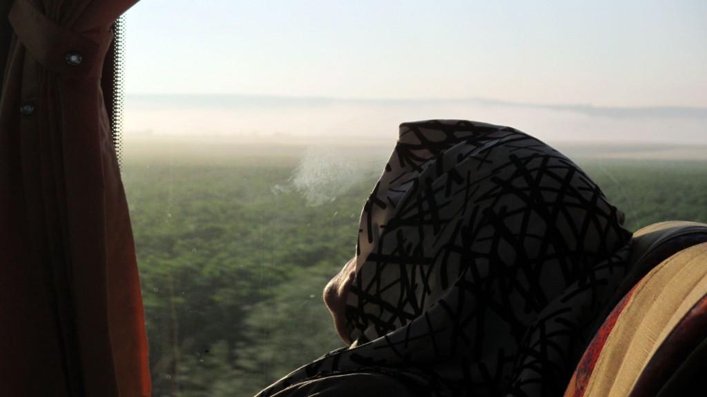 Zdjęcia: Szosa do Burgas, Yambol, Świt w autobusie, BUłGARIA
