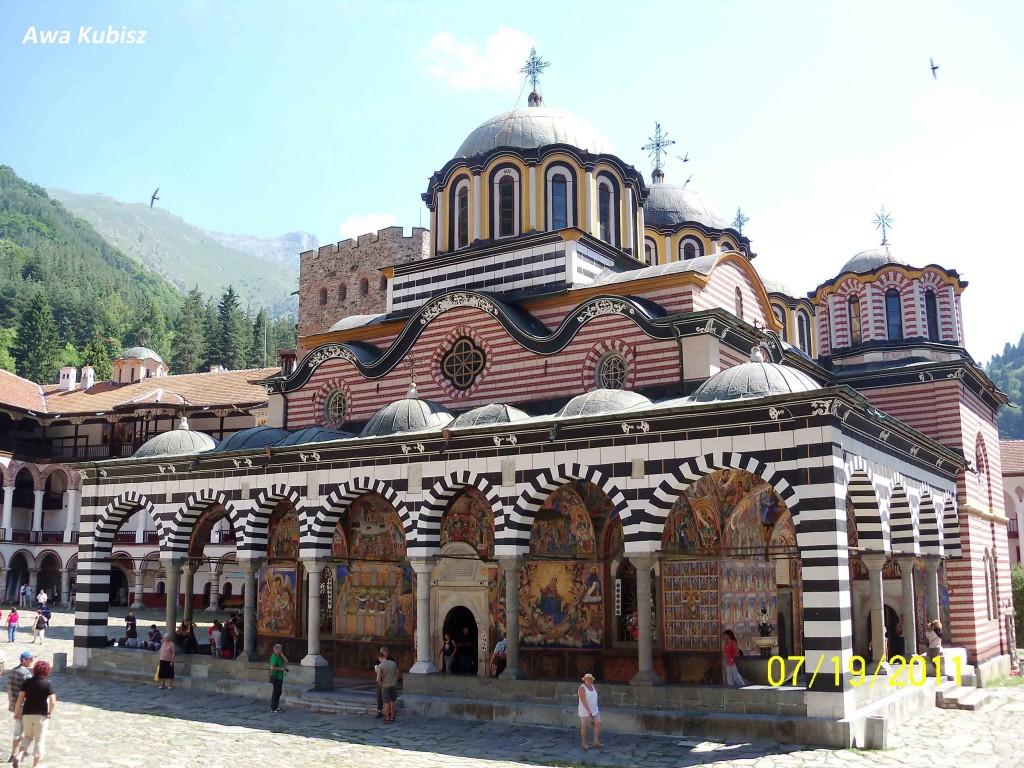 Zdjęcia: Riła, Południe, Monastyr Rylski - świątynia główna, BUłGARIA