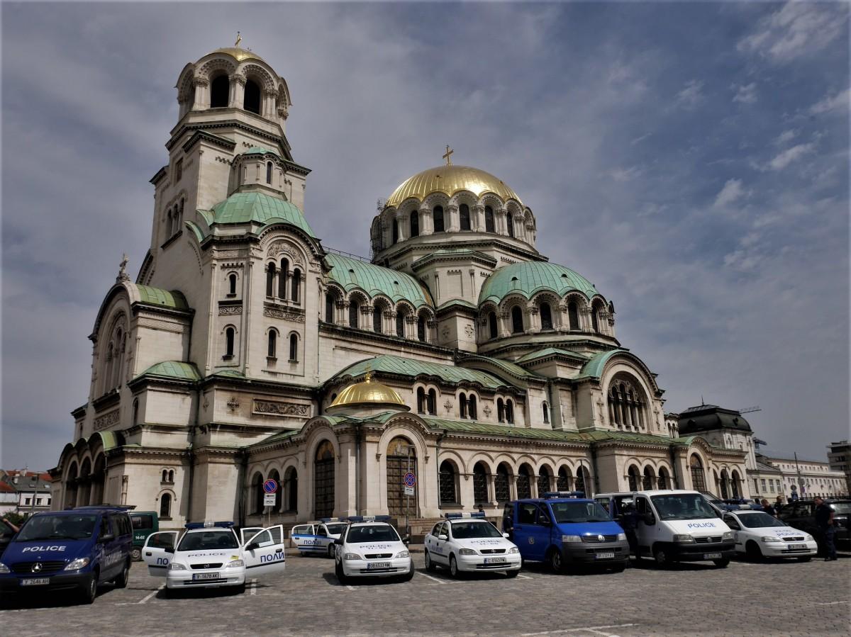 Zdjęcia: Sofia, Nad rzeką Bojańską, Sobór św. Aleksandra Newskiego., BUłGARIA