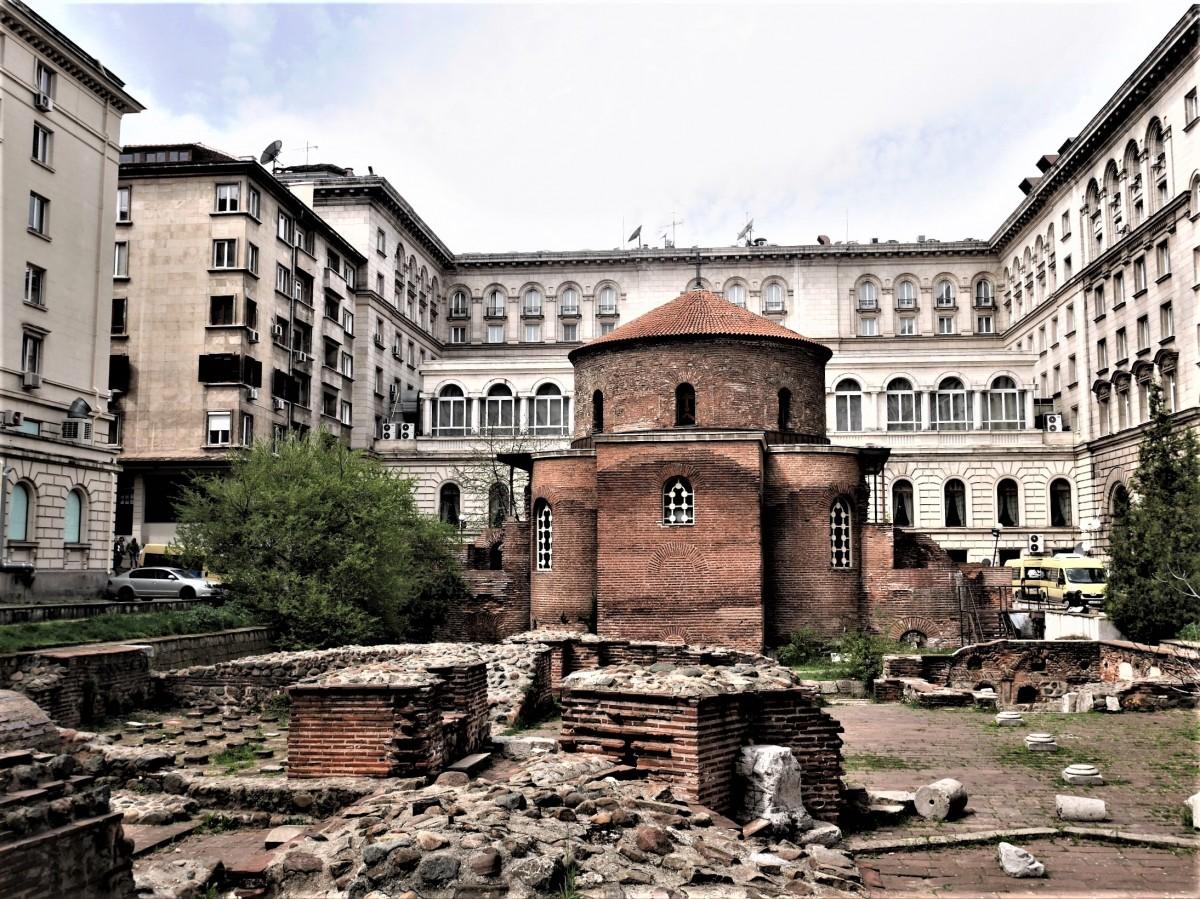 Zdjęcia: Sofia, ..., Cerkiew św. Jerzego, BUłGARIA