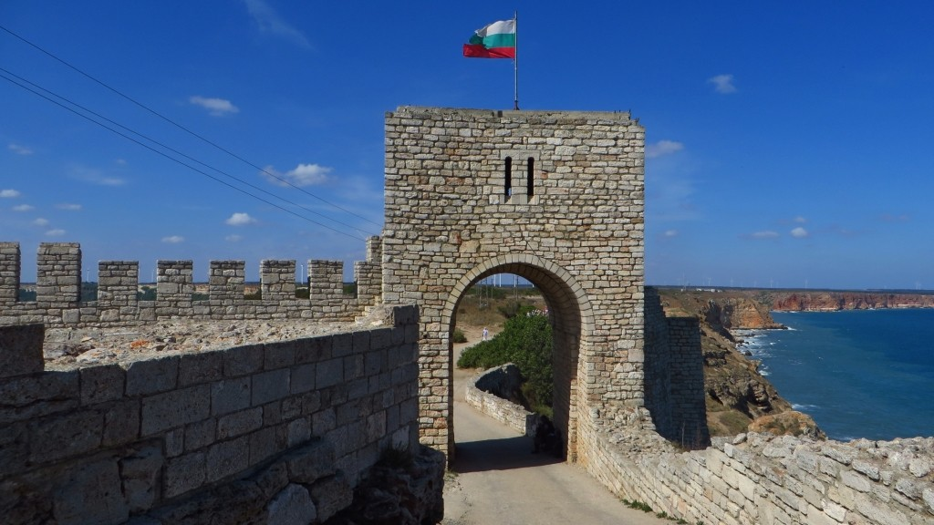 Zdjęcia: półwysep Kaliakra, okolice Warny, ruiny twierdzy, BUłGARIA