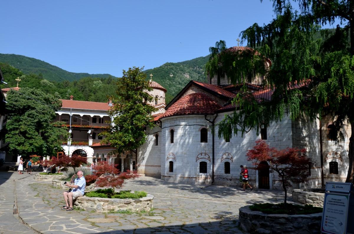 Zdjęcia: Klasztor/Monastyr, Góry Bułgarii, Monastyr Buczkowski, BUłGARIA