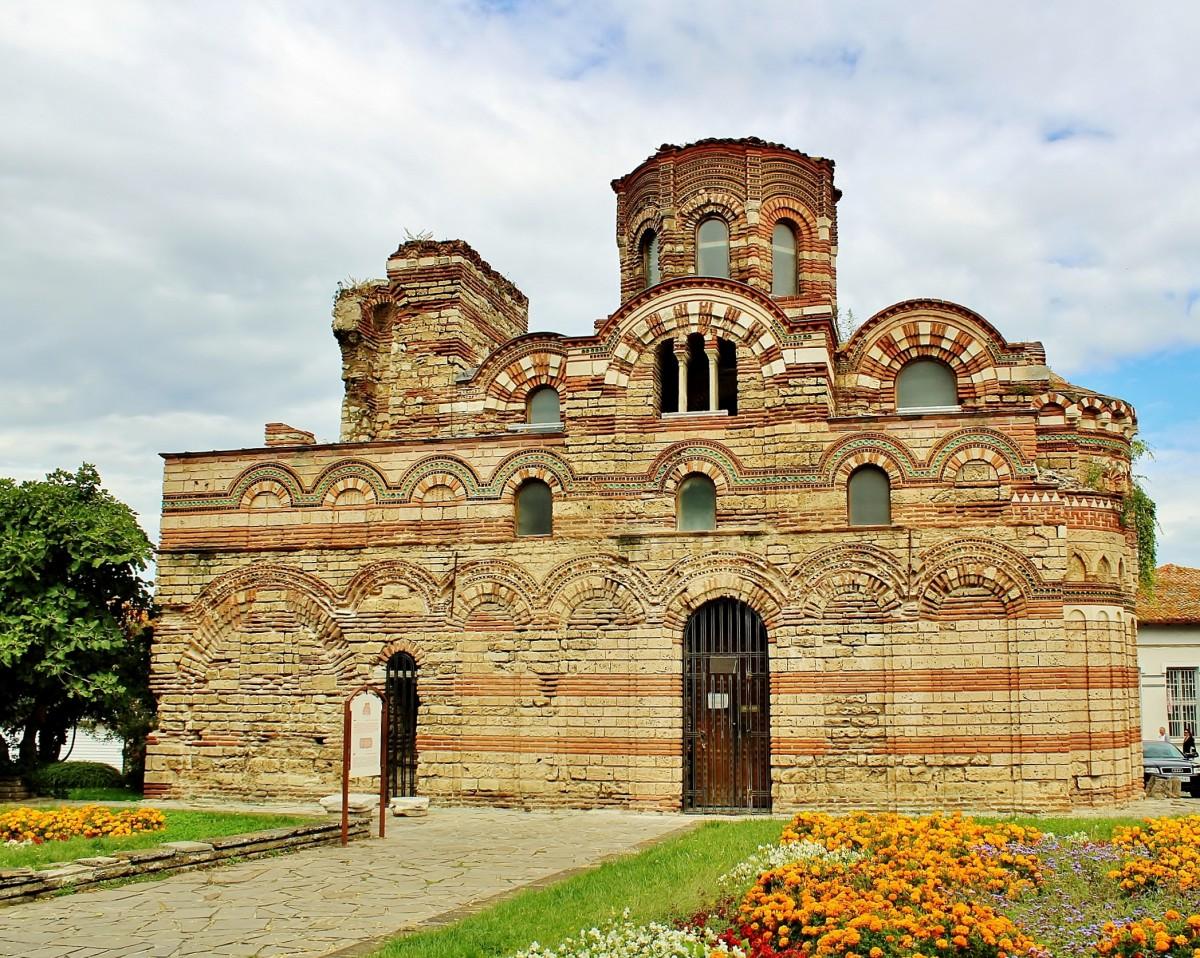 Zdjęcia: Nesebyr, obwód Burgas, Cerkiew Chrystusa Pantokratora z XIII/XIV wieku, BUłGARIA