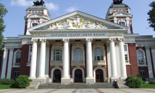 Zdjecie BUłGARIA / Sofia / Sofia / Teatr Narodowy