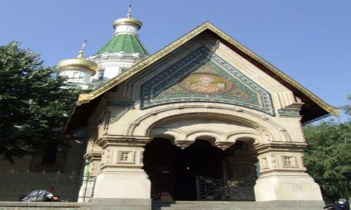 Zdjecie BUłGARIA / Sofia / Cerkiew św. Mikołaja / maleńka cerkiew