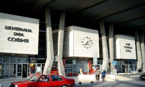 Zdjecie BUłGARIA / brak / Sofia / dworzec w Sofii