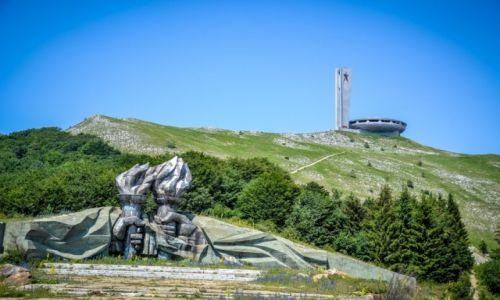 BUłGARIA / Buzludja / Buzludja - Pomnik Partii Komunistycznej / Buzludja - Pomnik Partii Komunistycznej