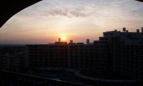 Zdjecie BUłGARIA / słoneczny brzeg / słoneczny brzeg / zachód słońca nad marvel