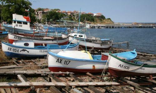 Zdjęcie BUłGARIA / Carevo / Achtopol / Port