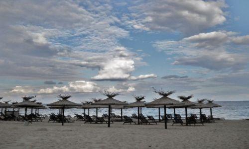 Zdjęcie BUłGARIA / obwód Warna / Złote Piaski / Złote Piaski. Pusta plaża po sezonie
