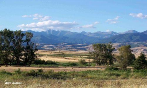 BUłGARIA / Południe / Okolice Melnika / Równiny i góry południowej Bułgarii