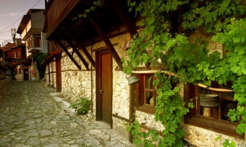 Zdjecie BUłGARIA / Wybrzeże Morza Czarnego / Nesebyr  / Rezerwat architektoniczny