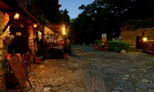 BU�GARIA /  Wybrze�e Morza Czarnego / Nesebyr  / Nocne zwiedzanie....