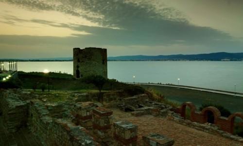 Zdjęcie BUłGARIA /  Wybrzeże Morza Czarnego / Nesebyr  /  Świątynia Apolla- To co pozostało!
