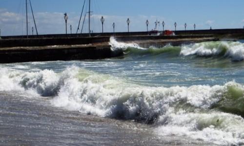 Zdjecie BU�GARIA / okolice Warny / Z�ote Piaski / zagniewane morz