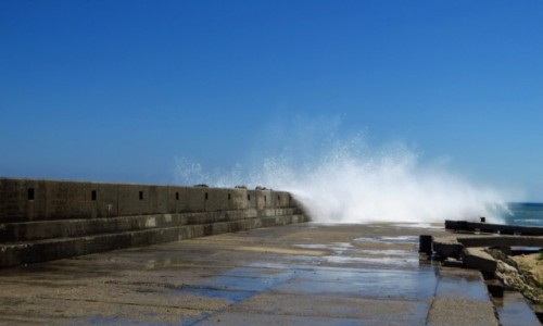 Zdjęcie BUłGARIA / okolice Warny / Złote Piaski / zagniewane morze