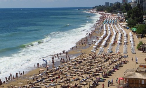 Zdjęcie BUłGARIA / okolice Warny / Złote Piaski / plaże w Złotych Piaskach