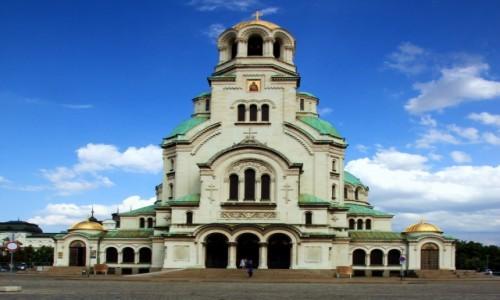 Zdjęcie BUłGARIA / Sofia / Sobór św. Aleksandra Newskiego / W hołdzie rosyjskiemu carowi Aleksandrowi II