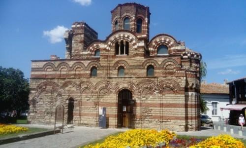 Zdjecie BUłGARIA / Słoneczny Brzeg / Nessebar / Cerkiew Pantokrata