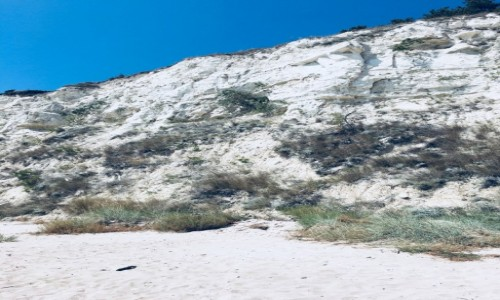 Zdjecie BUłGARIA / Bałczik / Bałczik / Wapienne wybrzeże