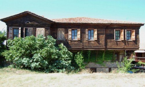Zdjecie BUłGARIA / Bułgaria / Sozopol / Architektura Sozopola