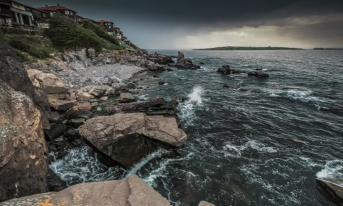Zdjecie BUłGARIA / Morze Czarne / Sozopol / Sozopol, przed burzą