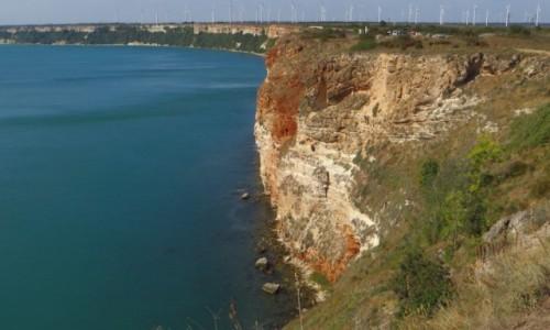 Zdjęcie BUłGARIA / okolice Warny / półwysep Kaliakra / klify