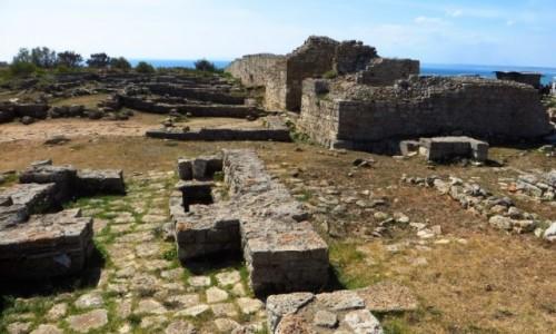 Zdjecie BUłGARIA / okolice Warny / półwysep Kaliakra / ruiny twierdzy