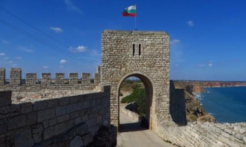 BUłGARIA / okolice Warny / półwysep Kaliakra / ruiny twierdzy