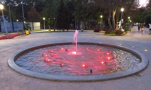 BUłGARIA / okolice Warny / Albena / fontanna szczęścia