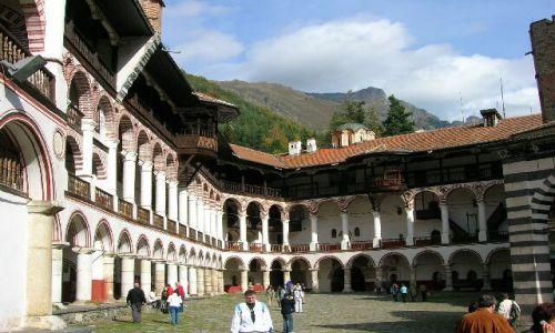 Zdjęcie BUłGARIA / brak / Oblicza Bułgarii / Monaster św. I. Rylskiego