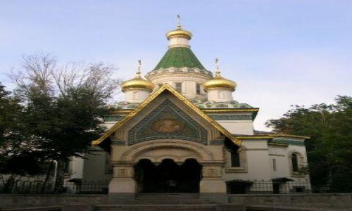 Zdjecie BUłGARIA / brak / Bułgarska codzienność / Rosyjska cerkiew św. Mikołaja- Sofia