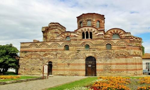 Zdjecie BUłGARIA / obwód Burgas / Nesebyr / Cerkiew Chrystusa Pantokratora z XIII/XIV wieku
