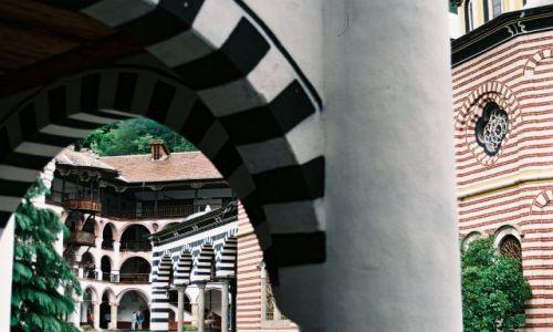 Zdjecie BUłGARIA / Riła / Rilski Monastyr / w monastyrze