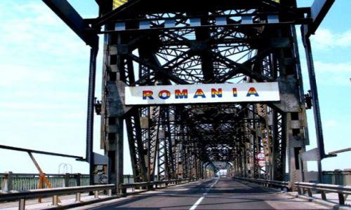 Zdjecie BUłGARIA / granica bułgarsko - rumuńska / Granica w Ruse / Most graniczny