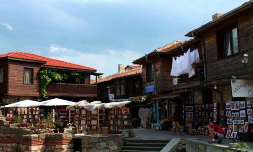 BUłGARIA / - / Nesebar / Tradycyjne domy