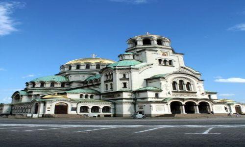 Zdjecie BUłGARIA / - / Sofia / Cerkiew św. Aleksandra Newskiego