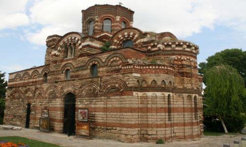 Zdjecie BUłGARIA / nadmorski- koło Burgas / Nesseber / starożytna świątynia- dobrze pilnowana