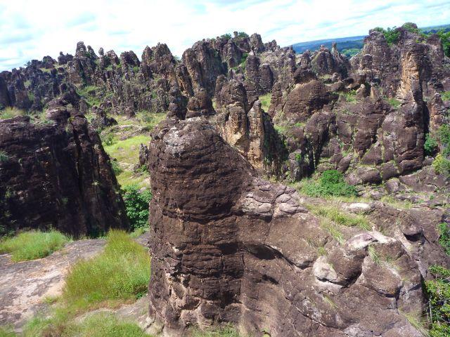 Zdjęcia: Banfora, zach. część B.Faso, Formacje skalne., BURKINA FASO