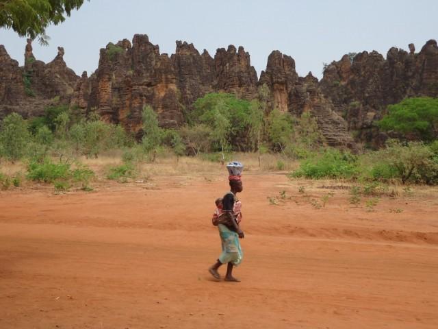 Zdjęcia: okolice Sindou, Leraba, Skałki Sindou, BURKINA FASO