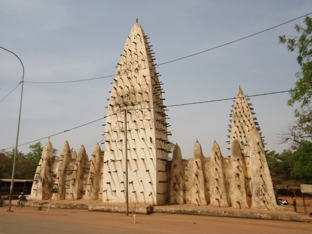 Zdjęcia: Bobo - Diulasso, Houet, Meczet w Bobo, BURKINA FASO