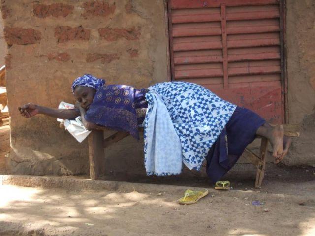Zdjęcia: Burkina Faso, Drzemka, BURKINA FASO