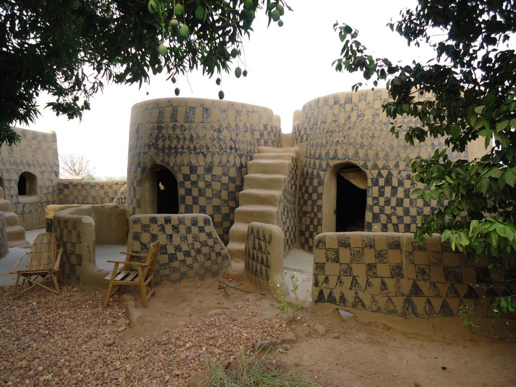Zdjęcia: Tiebele, Nahouri, Hotelik w Tiebele, BURKINA FASO