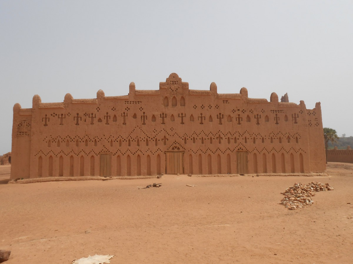 Zdjęcia: Bani, Centre-Nord Region, Wielki Meczet w Bani, BURKINA FASO