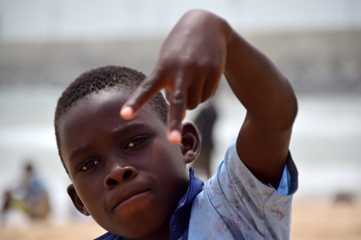Zdjęcia: Ouagadougou, Stolica, Młody raper, BURKINA FASO