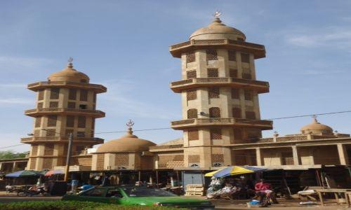 BURKINA FASO / Kadiogo / Ouagadougou / Główny meczet stolicy