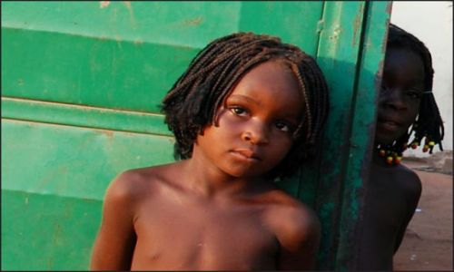 BURKINA FASO / poludniowy / wioska / dziecko afryki