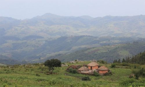 Zdjęcie BURUNDI / Burundi / Burundi / Krajobrazy Burundi - w drodze na Mount Heha