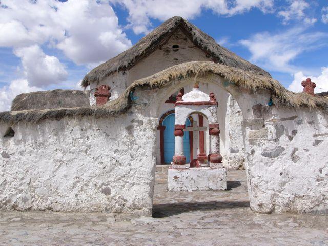Zdjęcia: PN Lauca, Region XV, Kościół w Parinacota, CHILE